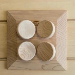 headrest square cedar