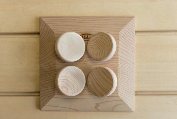 headrest square cedar